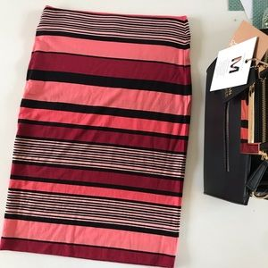 LOFT Skirts - {LOFT} Color Block/stripe skirt, XXS